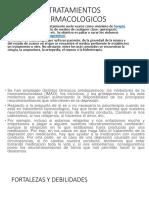 TRATAMIENTOS FARMACOLOGICOS