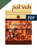 LITERATURA HIPANOAMERICANA