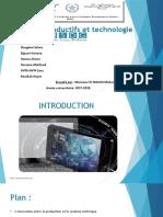Chp 7 Systèmes productifs et technologie