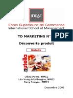 25052790 Nutella Etude de Marche