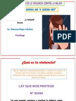 VIOLENCIA PREVENCIÒN