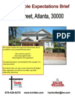 PreListing Brief for an Atlanta Home for Sale