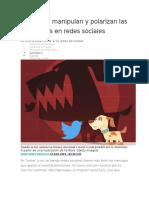 Cómo Nos Manipulan y Polarizan Las Emociones en Redes Sociales