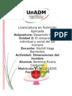 dimensiones del hombre desarrollo humano unidad 2