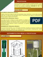 Tema 3. Precipitación - Universidad de los Andes