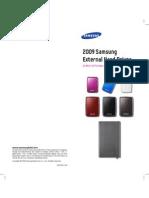 2009 Samsung External -HDD
