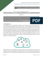 Cloud Applications Development and Deployment