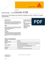SikaRep Microcrete 3 UW
