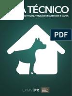 Guia Técnico para Construção e Manutenção de Abrigos e Canis