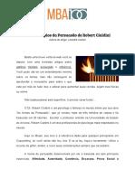 Os 6 Principios da Persuasao de Robert Cialdini