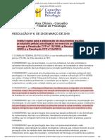 Resolução 006-2019