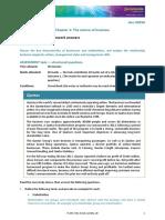 Chapter 1 Practice SAC answers -  Jacaranda VCE Business Management