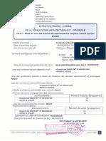 Extrait de P V et Resultat definitif C A N°13-2018
