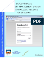 Deploy Private Document Management System with KnowledgeTree DMS on Windows 7