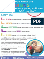 Early ASD Signs-Poster