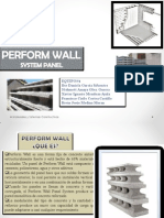 Material Perform Wall UABC Facultad Arquitectura