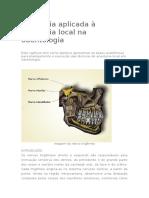 1 Anatomia aplicada à anestesia local na odontologia