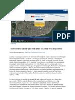 Rastreamento Celular Pelo Imei 2020, Encontrar Meu Dispositivo - YouTube2(1)