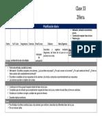 Planificación clase 33 julio ciencias 3° básico