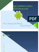 Les design patterns dans l'Android Framework