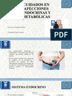 Enfermedades metabolicas, endocrinas y Terapia de calor y frio
