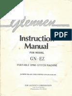 Glennen Portable OmniStitch Manual