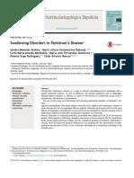 Swallowing disorders in parkinson s disease