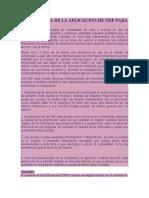 IMPORTANCIA DE LA APLICACIÓN DE NIIF PARA PYMES