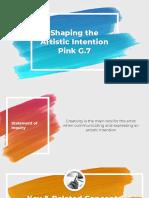 pink wachirapaet - unit 3 visual arts summative assessment