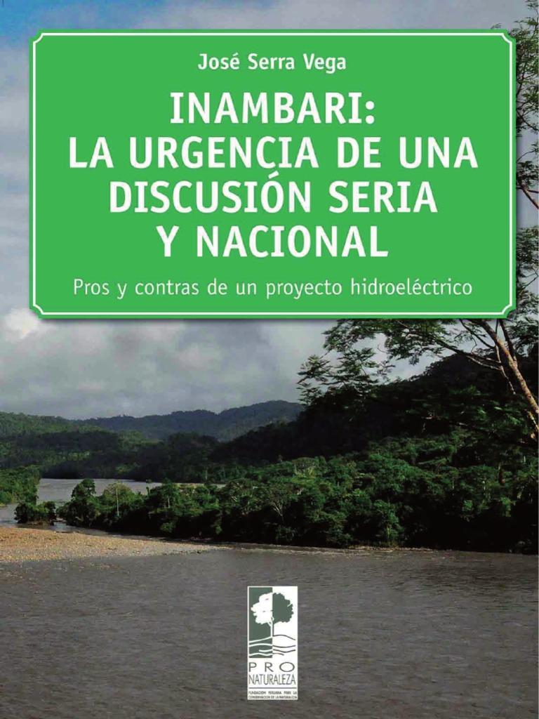 Libro INAMBARI: la urgencia de una discusión seria y nacional. Por ...