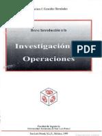 Breve Introduccion a La Investigacion de Operaciones