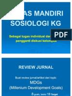 Tugas Sosiologi KG