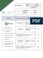TABLAS  DE COMPETENCIA
