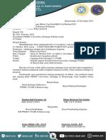 Surat Pendanaan Rektor Cup