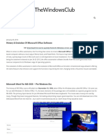 History & Evolution Of Microsoft Office Software