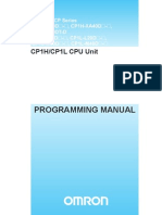 Omron PLC CP1H ProgManual