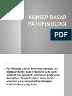 1. KONSEP PATOFISIOLOGI