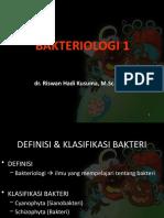 1. BAKTERIOLOGI 1