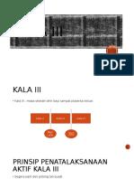 Kala III presentasi