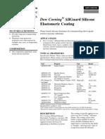 Dow Corning AllGuard Silicone Elastomeric Coating