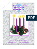 St. Edward the Confessor Catholic Church Weekly Bulletin - December 12, 2010
