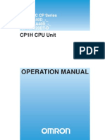 OmronPLC CP1H OperManual