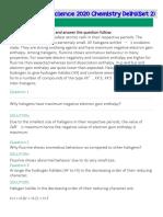 Chemistry Solution PDF Set 2 Delhi