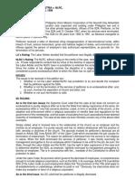 13. Pastor Austria vs. NLRC (312 SCRA 410 [1999])-Case Digest