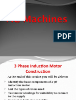 3 Phase Motor Construction