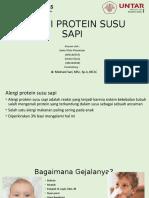 Alergi Protein Susu Sapi