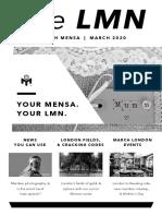 LMN March 2020 BW