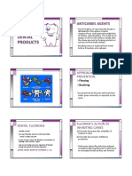 Dental products and Miscellaneous Pharmaceutical Agents