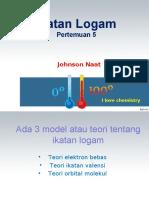 4. Ikatan Logam new 2016.ppt