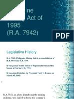 Mining Laws (R.A. 7942 & 7076)
